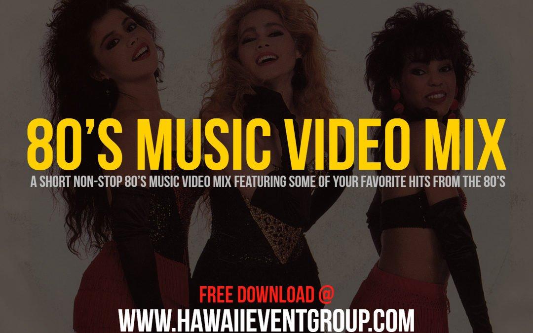 Old School Friday Waikiki 80's Video Mix